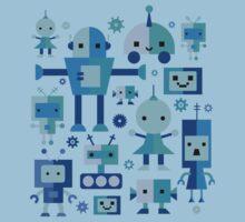 Robot Cuties One Piece - Short Sleeve