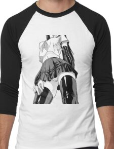 Anime/Manga Girl Men's Baseball ¾ T-Shirt
