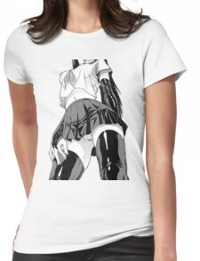 Anime/Manga Girl Womens Fitted T-Shirt