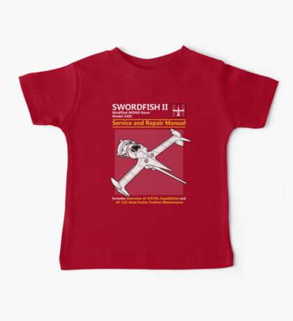 Swordfish Service and Repair Manual Kids Clothes