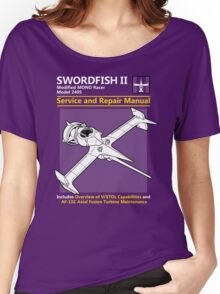 Swordfish Service and Repair Manual Women's Relaxed Fit T-Shirt