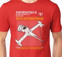 Swordfish Service and Repair Manual Unisex T-Shirt