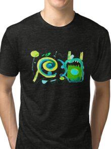 fresh green in april Tri-blend T-Shirt