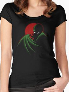 Cthulhu - The Animated Series Women's Fitted Scoop T-Shirt