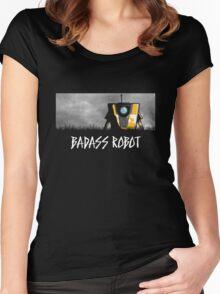 Badass Robot Women's Fitted Scoop T-Shirt