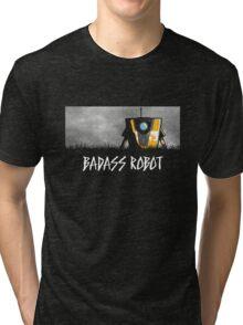 Badass Robot Tri-blend T-Shirt
