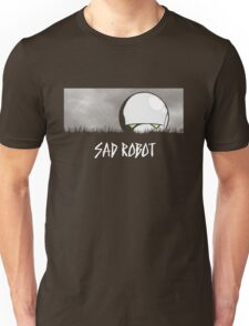 Sad Robot Unisex T-Shirt