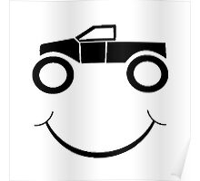 Truck Smile Poster