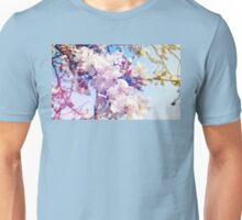 Cherry flowers Unisex T-Shirt