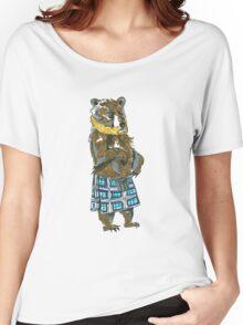Scottish Bearded Bear Women's Relaxed Fit T-Shirt
