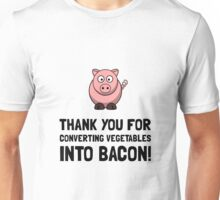 Vegetables Bacon Unisex T-Shirt