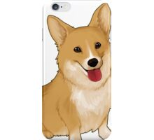 smile corgi  iPhone Case/Skin