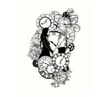 Time Led Me To You (Line Art Version) Art Print