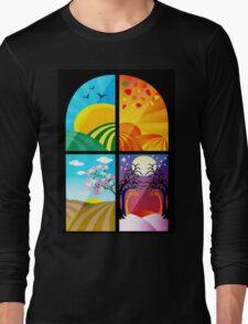 SEASONS WINDOW Long Sleeve T-Shirt