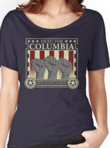Fight for Columbia Women's Relaxed Fit T-Shirt