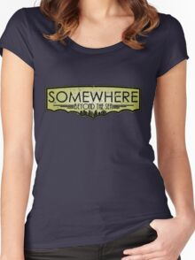 Somewhere Beyond The Sea Women's Fitted Scoop T-Shirt