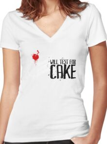 Conundrums for Confectioneries Women's Fitted V-Neck T-Shirt