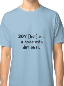 Boy Definition Classic T-Shirt