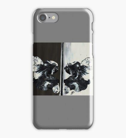 Symmetrical Angels iPhone Case/Skin