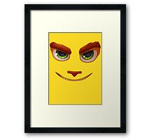 Ratchet and Clank Face Framed Print