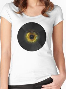 Vinyl Music Women's Fitted Scoop T-Shirt