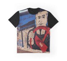 Berlin Wall Graffiti Graphic T-Shirt