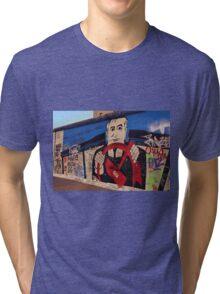 Berlin Wall Graffiti Tri-blend T-Shirt