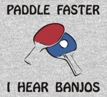 Paddle Faster Ping Pong One Piece - Short Sleeve