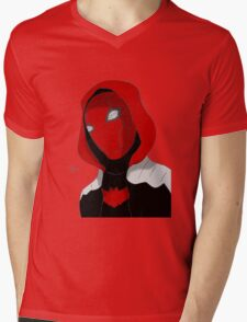 Red Hood Mens V-Neck T-Shirt