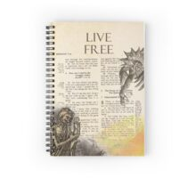 LIVE FREE Spiral Notebook