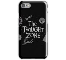 The Twilight Zone Symbols iPhone Case/Skin