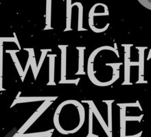 The Twilight Zone Symbols Sticker