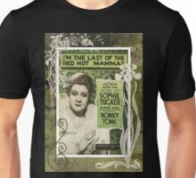 Last Of The Red Hot Mamas Sheet Music Unisex T-Shirt