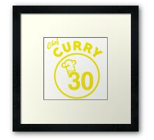 Chef Curry Framed Print