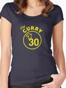 Chef Curry Women's Fitted Scoop T-Shirt