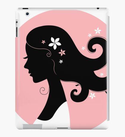 Romance girl shape for Wedding or Valentine iPad Case/Skin
