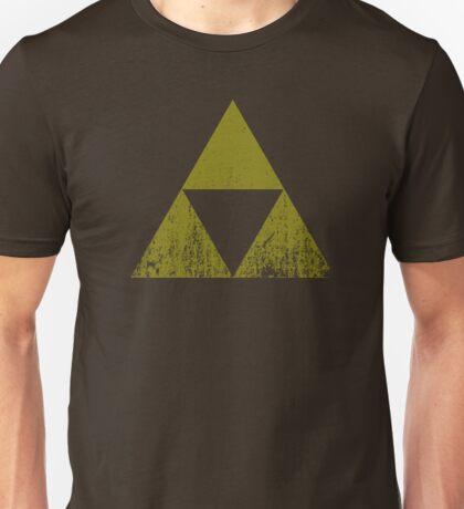 Worn Triforce Unisex T-Shirt