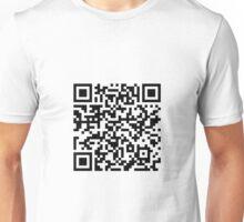QR T-shirt #1 - You scanned my Shirt? Unisex T-Shirt