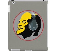 Lenin with Headphones  iPad Case/Skin