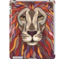 Psychedelic Lion iPad Case/Skin