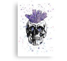 Crystal Skull by Andrea Cain Canvas Print