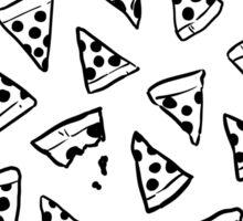 Pizza Pizza (Black + White) Sticker