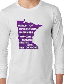 Purple Rain.  Purple Reign. Long Sleeve T-Shirt