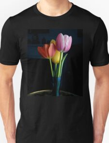 Candy Coloured Tulips (#1) Unisex T-Shirt