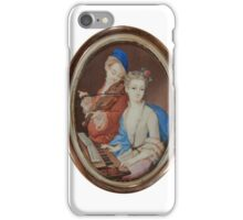 PORTRAIT MINIATURE Late 18th - Early 19th century iPhone Case/Skin
