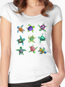 Turtles Women's Fitted Scoop T-Shirt