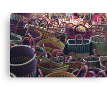 Basket Case Canvas Print
