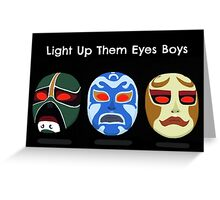 Light Up Them Eyes Boys Greeting Card