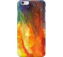 Flames Painting iPhone Case/Skin