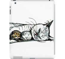 Mother and kittens iPad Case/Skin